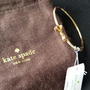 NWT Kate Spade mini bow rhinestone bracelet  bag